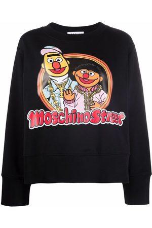 Moschino Sesame Street© cotton sweatshirt