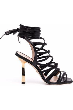 Stuart Weitzman Jaxie 100mm strappy sandals