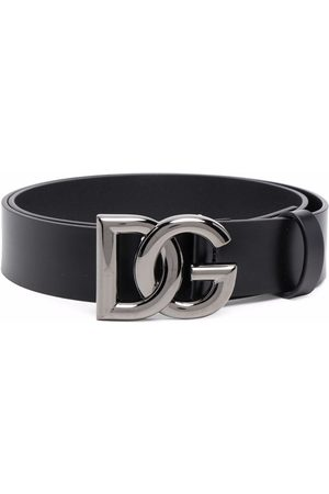 Dolce & Gabbana Men Belts - DG crossed logo belt