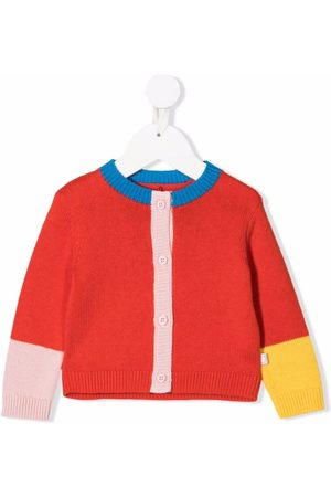 Stella McCartney Color-block knitted cardigan