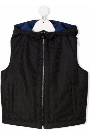 Emporio Armani Reversible hooded gilet