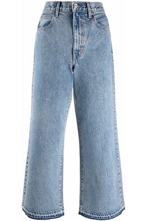 SLVRLAKE Women Flares - Flared cropped jeans