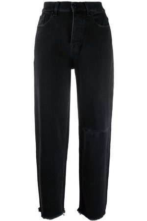 7 for all Mankind High-rise tapered jeans