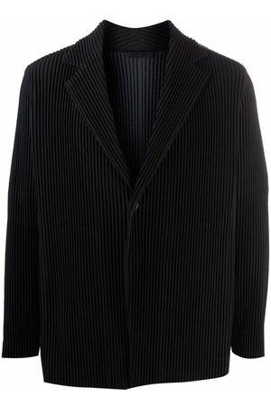 HOMME PLISSÉ ISSEY MIYAKE Plissé single-breasted blazer