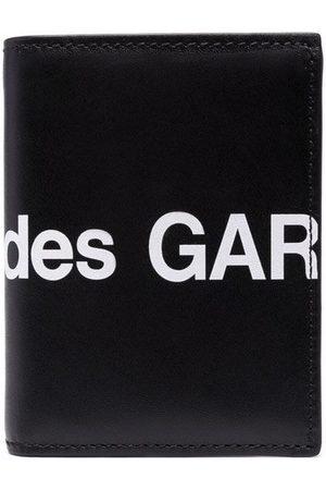 Comme des Garçons Huge Logo Mini bi-fold leather wallet