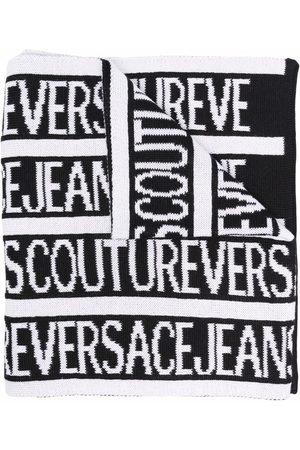 VERSACE Logo-print scarf