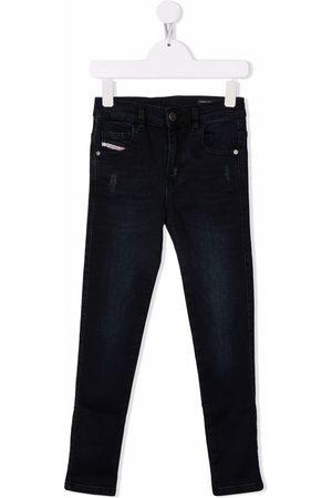 Diesel Slandy distressed-effect skinny jeans