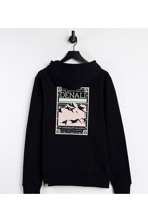 The North Face Faces back print hoodie in /pink Exclusive at ASOS