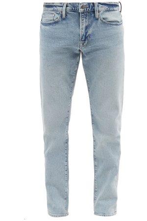 Frame L'homme Stonewashed Slim-leg Jeans - Mens