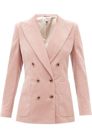 BELLA FREUD Bianca Cotton-corduroy Suit Jacket - Womens - Light