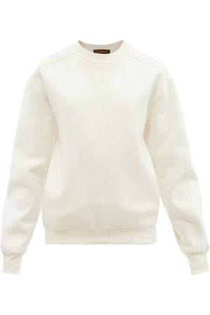 Vaara Women Sweats - Aurora Panelled Cotton-blend Sweatshirt - Womens
