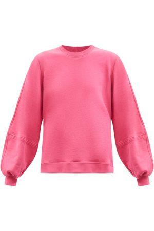 Ganni Software Organic Cotton-blend Sweatshirt - Womens