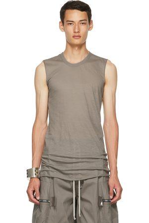 Rick Owens Khaki Basic Tank Top