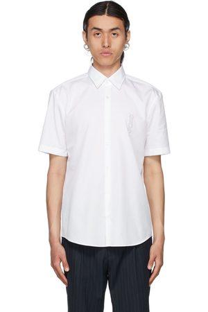 Hugo White Ermino Short Sleeve Shirt