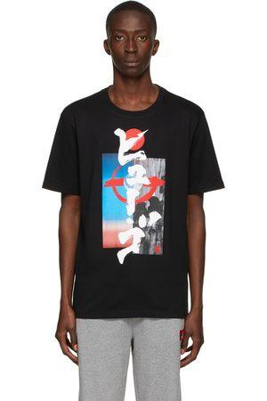 HUGO BOSS Black Graphic Damurai T-Shirt
