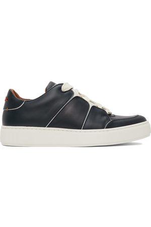Ermenegildo Zegna Navy Tiziano Sneakers