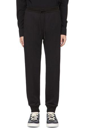 Ermenegildo Zegna Black Premium Cotton Sweatpants