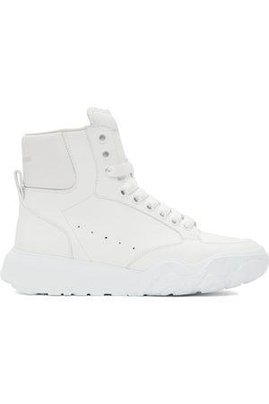 Alexander McQueen White Court High Sneakers