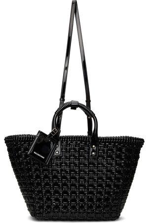 Balenciaga Black Small Bistro Basket Strap Tote