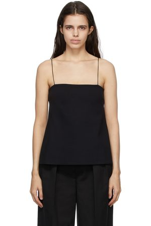 The Row Black Conny Camisole