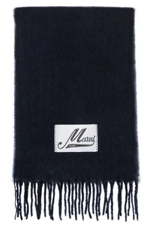 Marni Men Scarves - Brushed alpaca scarf