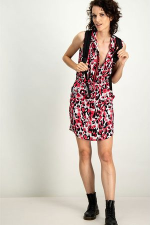 Garcia Short Dress S Tomato Puree