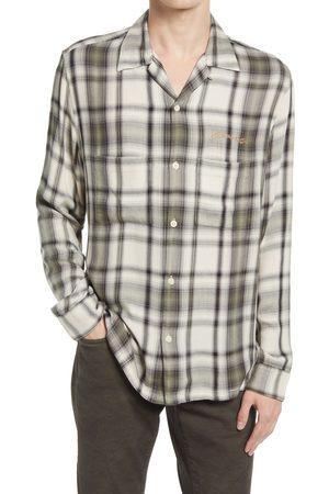 AllSaints Men's Men's Rancho Relaxed Fit Plaid Button-Up Shirt