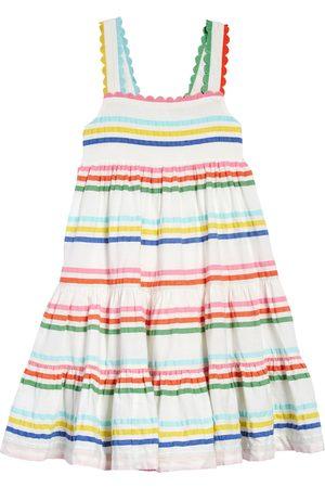 Boden Girls Summer Dresses - Toddler Girl's Kids' Rainbow Tiered Twirly Sundress