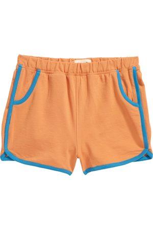 Open Edit Toddler Kids' Dolphin Hem Organic Cotton Shorts