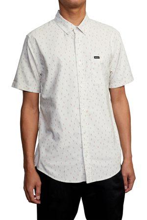 RVCA Men Short sleeves - Men's That'Ll Do Short Sleeve Button-Down Shirt