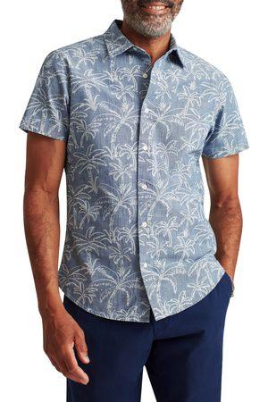 BONOBOS Men Short sleeves - Men's Riviera Slim Fit Short Sleeve Madras Button-Up Shirt