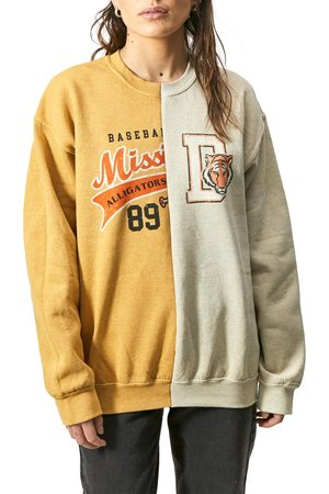 BDG Urban Outfitters Women's Stitched Together Crewneck Sweatshirt