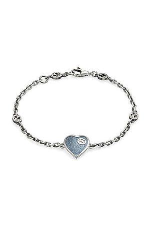 Gucci XS Heart Bracelet in Metallic