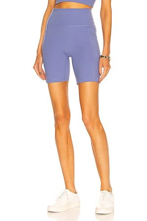 Le ORE Lucca High Rise Pocket Short in Baby Blue