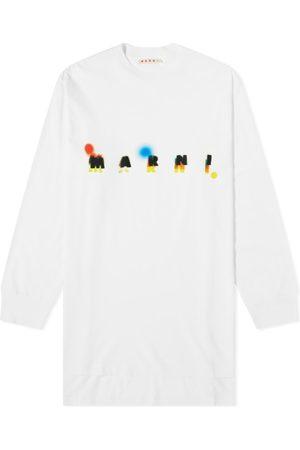 Marni Long Sleeve Logo Tee