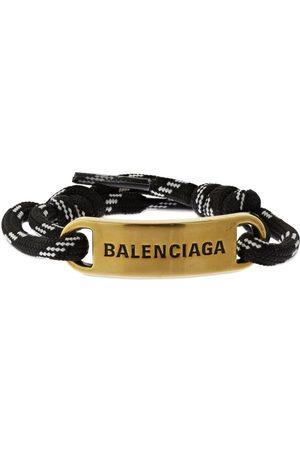 Balenciaga Women Bracelets - Plate Bracelet W/ Logo Detail