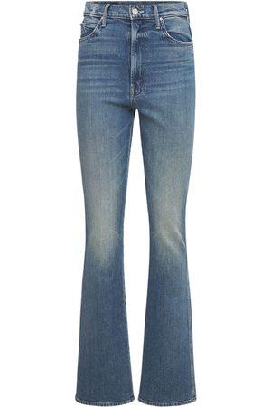 Mother Smokin' High Waist Bootcut Jeans