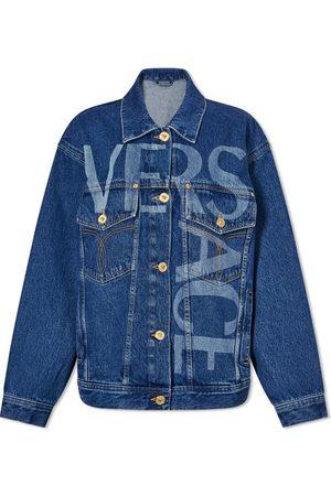 VERSACE Oversized Denim Jacket