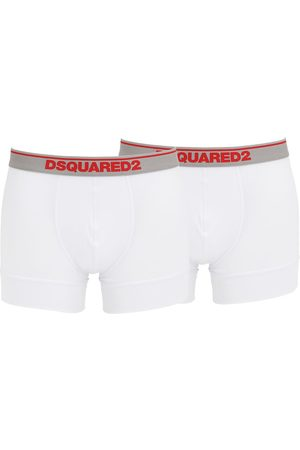 Dsquared2 Pack Of 2 Logo Modal Jersey Boxer Briefs