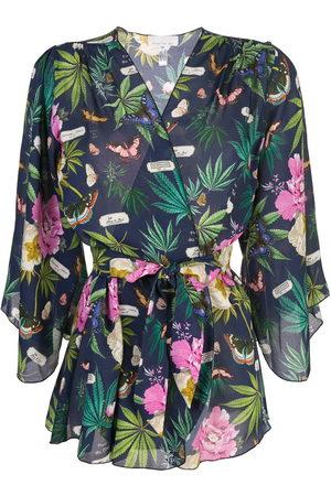 FLEUR DU MAL Women Bathrobes - Angel sleeve robe