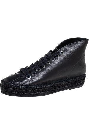 Alexander Wang Women Espadrilles - Leather Espadrille Sneakers Size 38