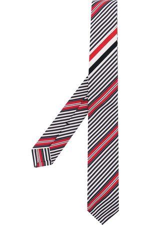 Thom Browne Diagonal stripe knitted tie