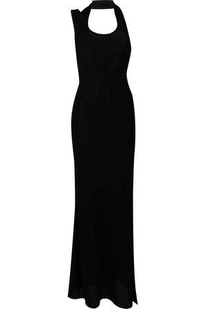 Proenza Schouler Scoop-neck halterneck dress