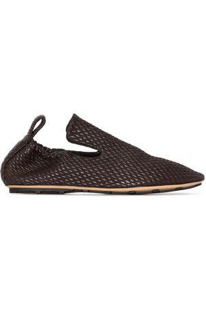 Bottega Veneta Lattice quilted slippers