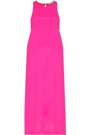 Three Graces London Nalini sleeveless midi dress