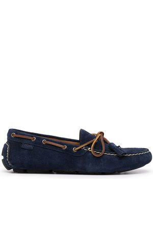 Polo Ralph Lauren Anders tasselled suede moccasins