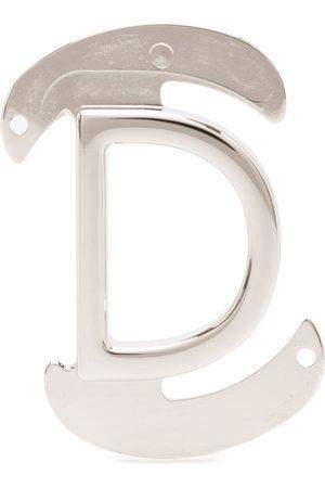 Salvatore Ferragamo D interchangeable belt buckle