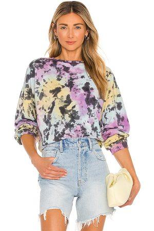 Lovers + Friends Bradley Sweatshirt in Purple.
