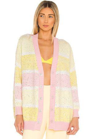 OLIVIA RUBIN Women Cardigans - Mika Cardigan in Yellow,Pink.