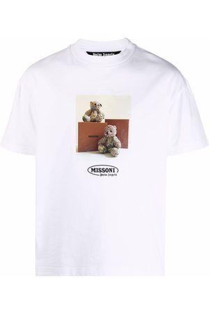 Palm Angels Bear print short-sleeve T-shirt